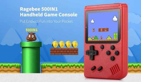 ragebee 500in1 handheld game console