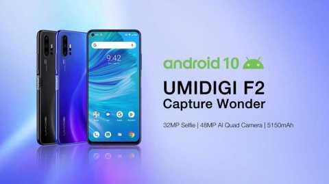 UMIDIGI F2 1 - UMIDIGI F2 Gearbest Coupon Promo Code [6+128GB]
