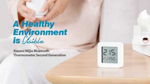 xiaomi mijia bluetooth thermometer second generation