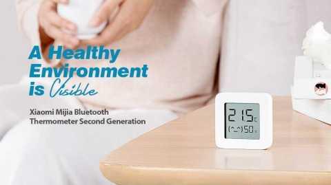 xiaomi mijia bluetooth thermometer second generation