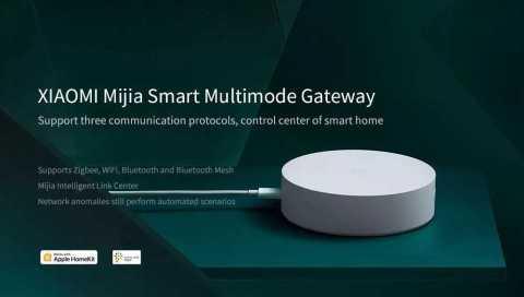 Xiaomi Mijia Smart Multimode Gateway - Xiaomi Multimode Smart Gateway Banggood Coupon Promo Code [ZigBee Version]