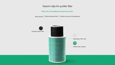 xiaomi peculiar smell pm2.5 formaldehyde removal c air purifier filter