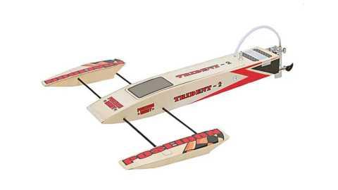 3652 unassembled electric rc boat kit
