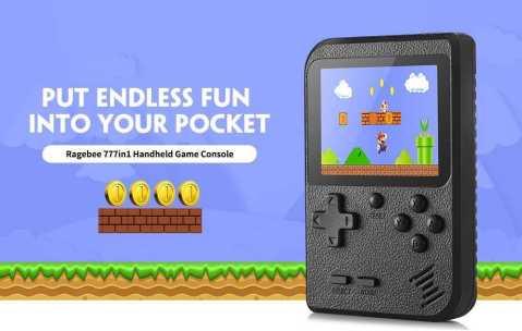 ragebee 777in1 handheld game console