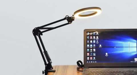 DANIU Magnifying Glass Desk Lamp - DANIU Lighting LED 5X Magnifying Glass Desk Lamp Banggood Coupon Promo Code