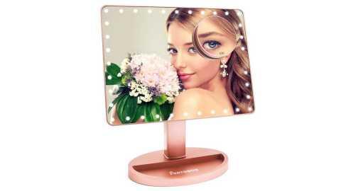FUNTOUCH Vanity Makeup Mirror - FUNTOUCH Large Lighted Vanity Makeup Mirror Amazon Coupon Promo Code