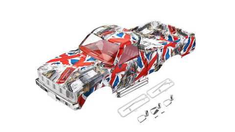 hg p407 1/10 camouflage car body shell ass-08 – 001