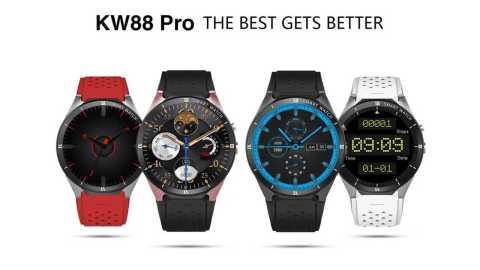 kingwear kw88 pro smart watch phone