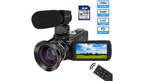 MELCAM 1080P Camcorder - MELCAM 1080P Camcorder with IPS Touch Screen Amazon Coupon Promo Code