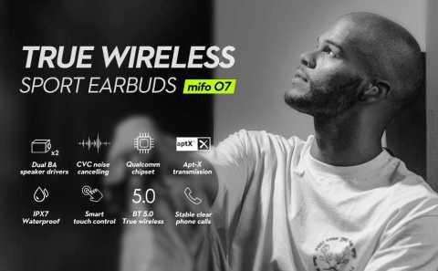 Mifo O7 earbuds - Mifo O7 True Wireless Sports Earbuds Amazon Coupon Promo Code