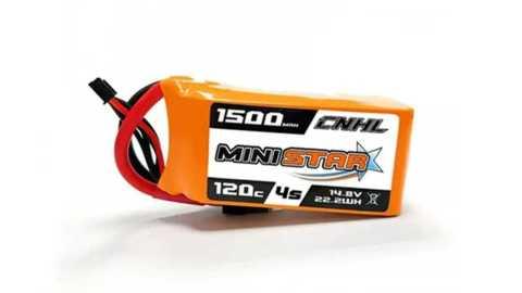 cnhl ministar 14.8v 1500mah 120c lipo battery