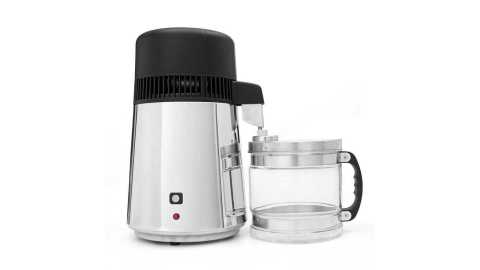 4l stainless steel pure water distiller purifier