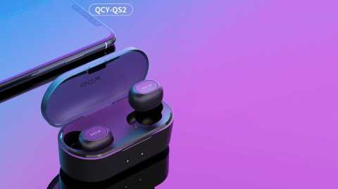 qcy t2c qs2 tws bluetooth v5.0 headphones