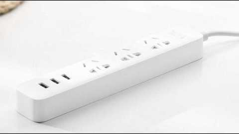 xiaomi 3 usb charging hub mini power strip with 3 sockets