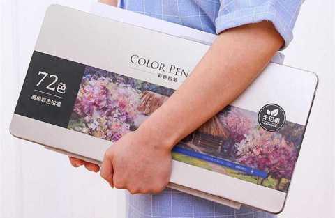 Xiaomi Deli 72 Colors pencil set - XIAOMI Deli 72 Colors Pencil Set Banggood Coupon Promo Code [Czech Warehouse]