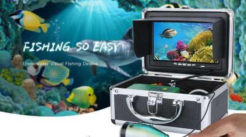 7 inch underwater fish finder