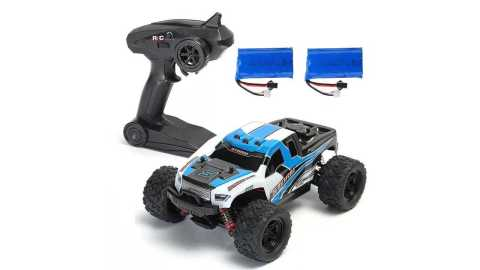2 Batteries Version HS 18301 18302 - HS 18301/18302 1/18 4WD RC Racing Car Banggood Coupon Promo Code [2 Batteries]