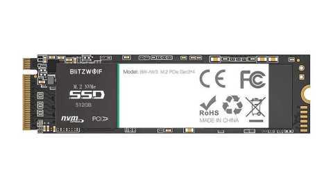 BlitzWolf BW NV1 - BlitzWolf BW-NV1 PCIe Gen3*4 NVMe1.3 SSD Banggood Coupon Promo Code [512GB]