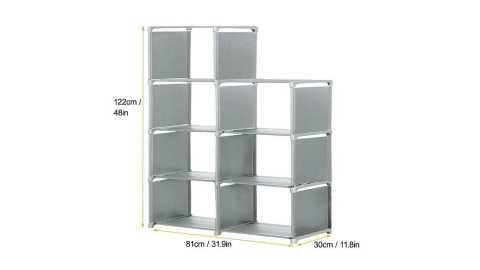 bookshelf multi-layer bookcase storage rack 5 layers