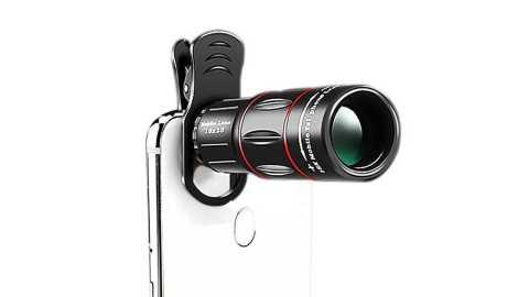 Moge HD BAK4 Mobile Lens - Moge 18x25 HD BAK4 Mobile Lens Phone Telescope Banggood Coupon Promo Code
