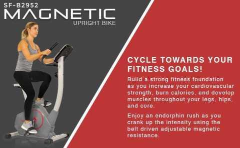Sunny Health fitness Stationary Upright Exercise Bike - Sunny Health & Fitness SF-B2952 Upright Exercise Bike Amazon Coupon Promo Code