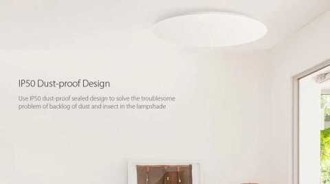 xiaomi yeelight ylxd17yl 480mm led ceiling light
