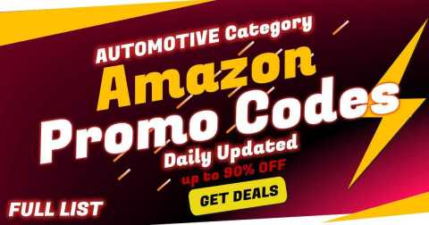amazon promo codes for automotive - Amazon Automotive Category Coupon Promo Codes [FULL LIST]