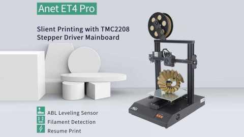 Ane ET4 PRO 3D Printer - Anet ET4 PRO 3D Printer Gearbest Coupon Promo Code