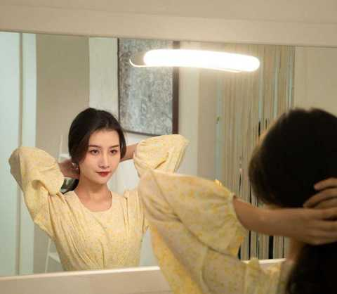 baseus led mirror light