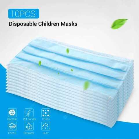 disposable children masks 3-layer