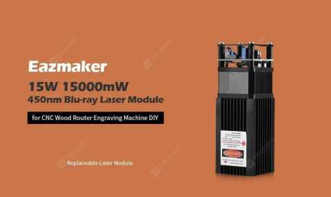 Eazmaker 15W module - Eazmaker 15W 15000mW 450nm Blu-ray Laser Module Gearbest Coupon Promo Code