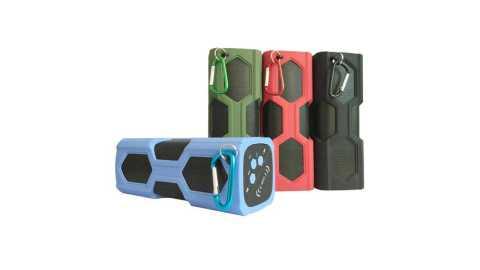 elegiant ipx4 waterproof shockproof bluetooth speaker