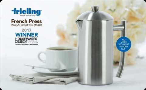 Frieling French Press - Frieling Double Wall Stainless Steel French Press Amazon Coupon Promo Code