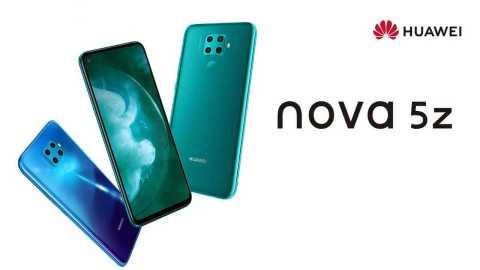 huawei nova 5z smartphone