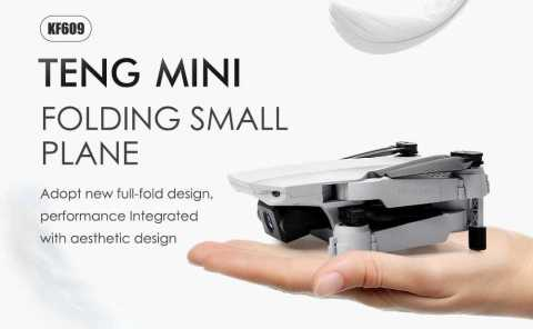 teng mini kf609 folding drone