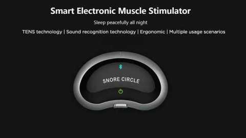 snore circle smart muscle stimulator