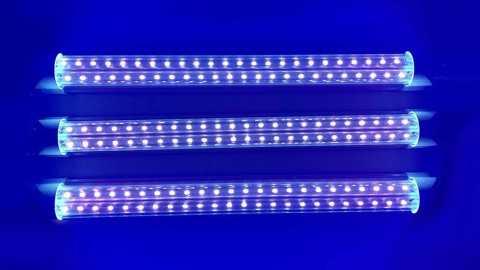 t8 uv 48 led fluorescent light