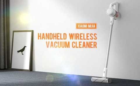 xiaomi mijia handheld wireless vacuum cleaner