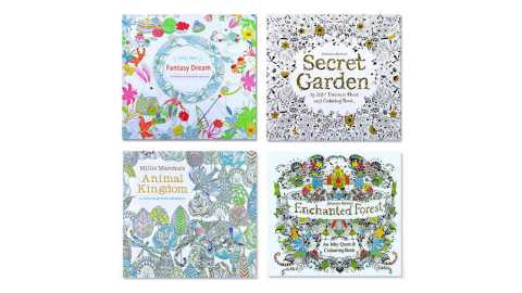 Double sided Children Adult Coloring Book - Double-sided Children Adult Coloring Book Banggood Coupon Promo Code [24 Pages]
