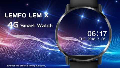 LEMFO LEM X - LEMFO LEM X 4G Watch Phone Banggood Coupon Promo Code