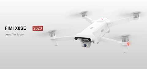 Xiaomi FIMI X8 SE 2020 - Xiaomi FIMI X8 SE 2020 RC Drone Banggood Coupon Promo Code [Czech Warehouse]