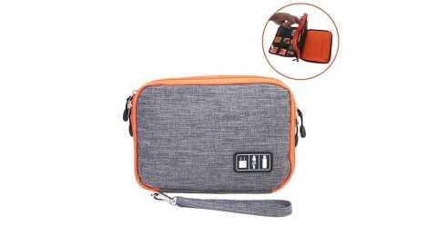 Honana HN CB1 - Honana HN-CB1 Double Layer Cable Storage Bag Banggood Coupon Promo Code
