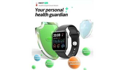 KINGWEAR KW37 Pro - KINGWEAR KW37 Pro Smart Watch Banggood Coupon Promo Code