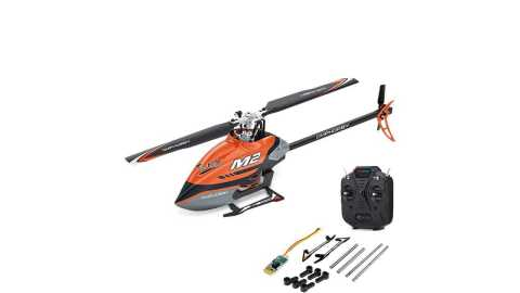 OMPHOBBY M2 - OMPHOBBY M2 6CH RC Helicopter Banggood Coupon Promo Code [RTF]