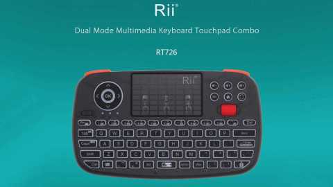 Rii RT726 - Rii RT726 Bluetooth Wireless Keyboard Air Mouse Gearbest Coupon Promo Code