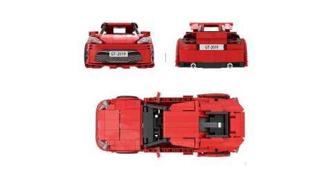 YC QC002 - YC-QC002 GT86 Car Building Blocks 534pcs Gearbest Coupon Promo Code