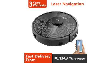 ABIR X8 - ABIR X8 Robot Vacuum Gearbest Coupon Promo Code [PL/RU/ES/CN Warehouse]