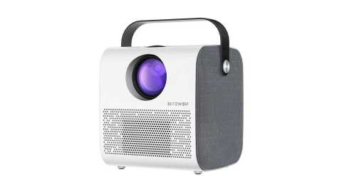 BlitzWolf BW VP5 Portable LCD Projector - BlitzWolf BW-VP5 Portable LCD Projector Banggood Coupon Promo Code [Russia Warehouse]