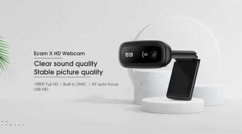 Elephone Ecam X - Elephone Ecam X HD Webcam Gearbest Coupon Promo Code