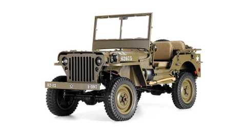 ROCHOBBY 1941 MB SCALER - ROCHOBBY 1941 MB SCALER 1/6 RC Jeep Banggood Coupon Promo Code [Without Transmitter]